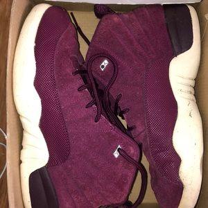 """Jordan 12 """"Burgundy""""        Size 3y"""